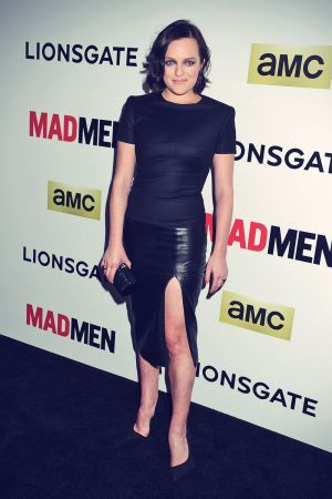 Elisabeth Moss attends AMC Celebrates The Season 7 Premiere Of Mad Men