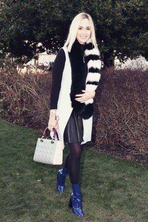 Elisabeth von Thurn und Taxis attends Paris Fashion Week