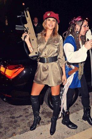 Elisabetta Canalis attends Casa Tequila Halloween Party