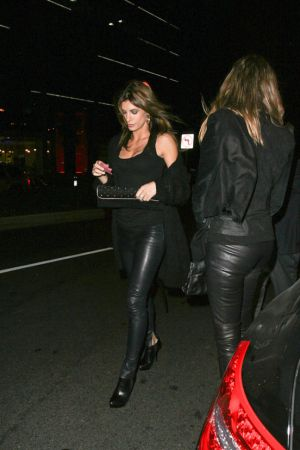 Elisabetta Canalis Night out on Sunset Blvd in LA