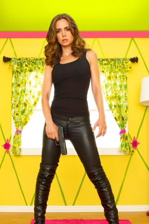 Eliza Dushku by Niki Shakalis for Dollhouse Promoshoot