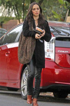 Eliza Dushku out in West Hollywood