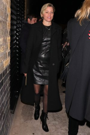 Elizabeth Banks leaving the Chiltern Firehouse