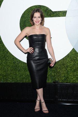 Elizabeth Henstridge attends 2014 GQ Men of the Year Party