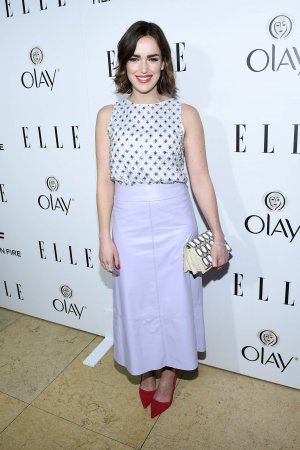 Elizabeth Henstridge attends ELLE's Annual Women in Television Celebration