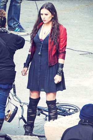 Elizabeth Olsen at Avengers 2 Age Of Ultron