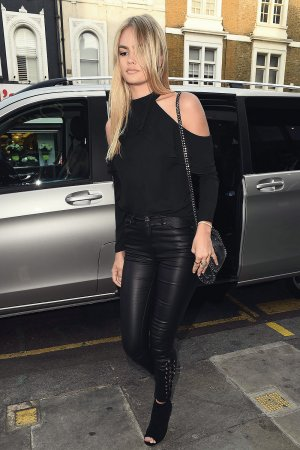 Ella Ross attends the Lipsey London party