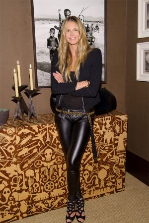 Elle Macpherson private view of The Pavilion of Art and Design London 2011