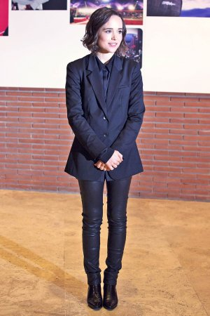 Ellen Page attends 10th Rome Film Festival Freeheld Screening
