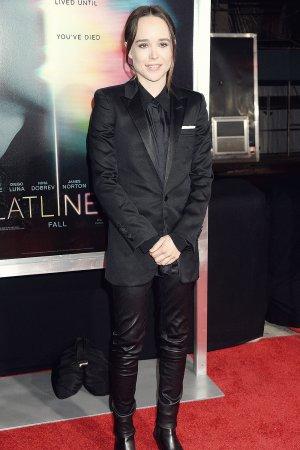Ellen Page attends Flatliners Premiere