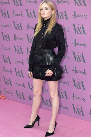 Ellie Bamber attends Victoria and Albert Museum Summer Party
