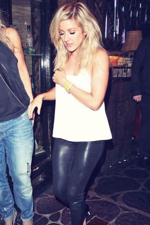 Ellie Goulding at Mahiki night club