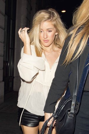Ellie Goulding at Steam & Rye in London