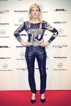 Ellie Goulding attends Berlin Fashion Week