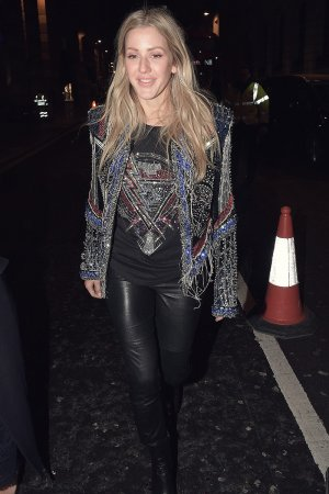 Ellie Goulding attends Brit Awards Universal Music Afterparty