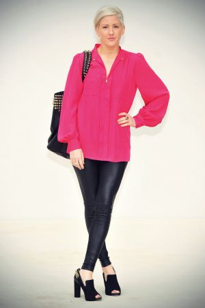 Ellie Goulding attends Burberry Prorsum SS Show