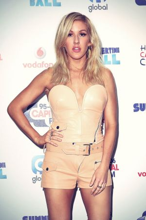 Ellie Goulding attends Capital Summertime Ball