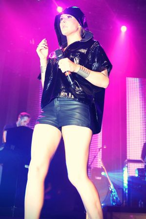 Ellie Goulding in concert at the Roundhouse