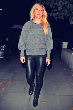 Ellie Goulding leaving a pub in Kentish Town