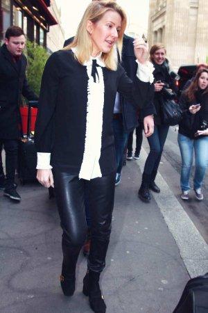 Ellie Goulding out in Paris