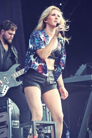 Ellie Goulding performs at Marley Park
