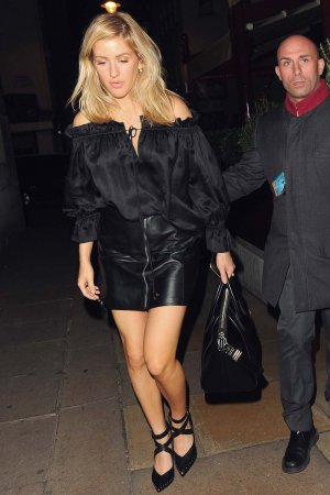 Ellie Goulding seen in London