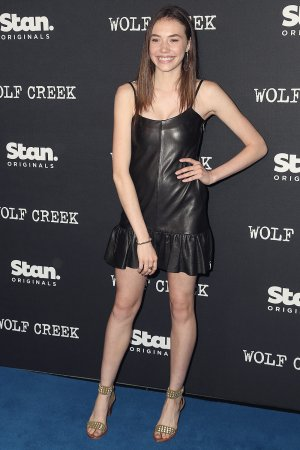 Elsa Cocquerel & Anna Cocquerel attend Stan Original Series 'Wolf Creek' world premiere