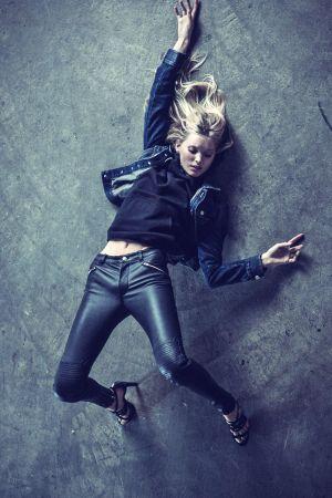 Elsa Hosk for BLK DNM 2014