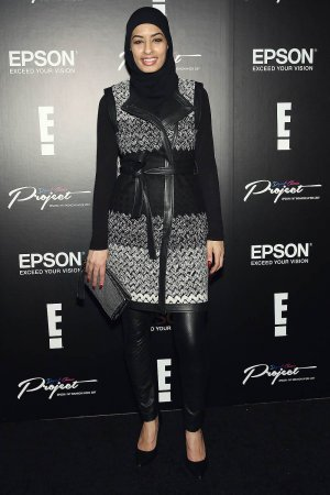 Eman B Fendi attends the Epson Digital Couture Presentation