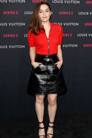 Emilia Clarke attends Louis Vuitton Series 2 The Exhibition