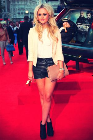 Emily Atack at UK Film Premiere of The Sweeney