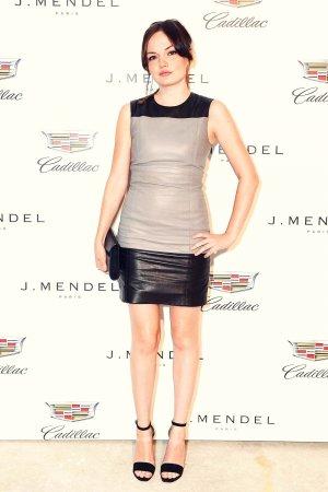 Emily Meade attends J MENDEL Spring/Summer 2016 Runway Show