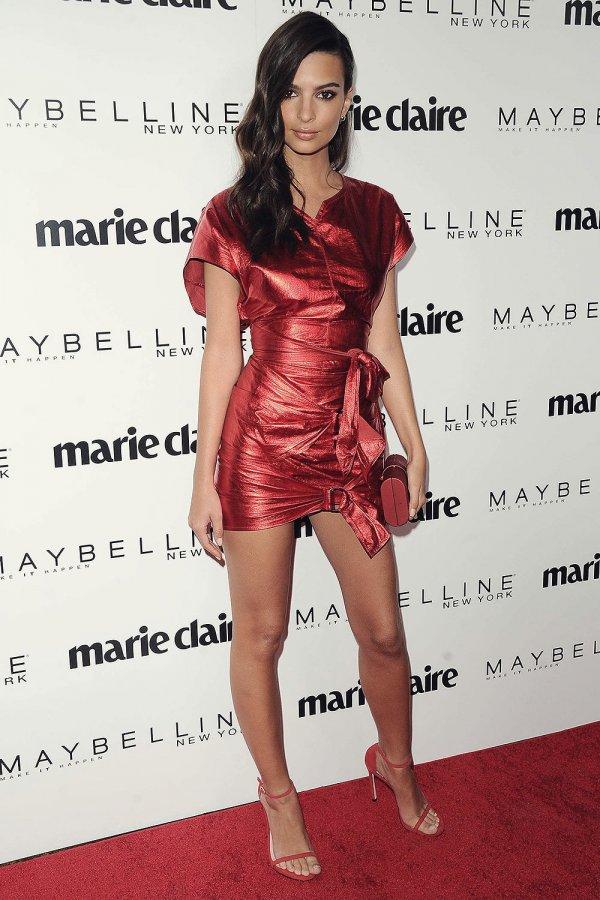 Emily Ratajkowski attends Marie Claire Celebrates Fresh Faces event