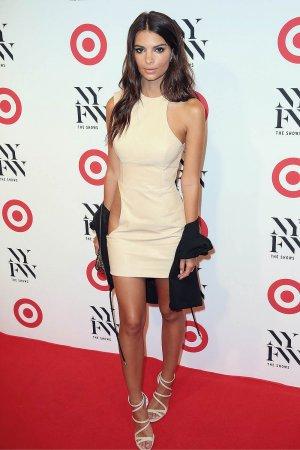 Emily Ratajkowski attends Target IMG NYFW Kickoff  Party
