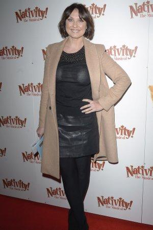 Emma Barton at Nativity The Musical Press Night