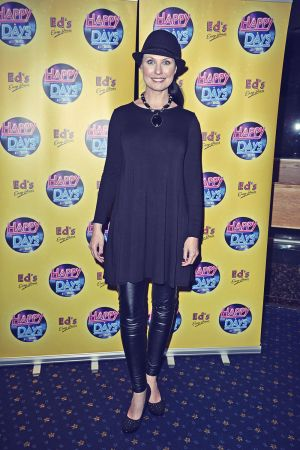 Emma Barton attends Happy Days Press