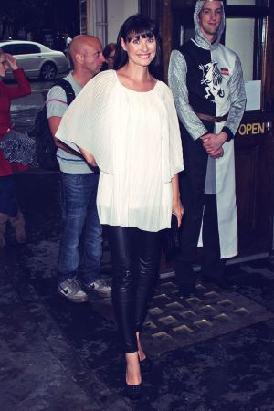Emma Barton attends Spamalot Press Night