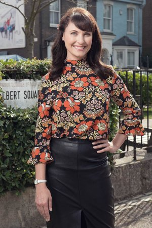 Emma Barton Photoshoot for Eastenders Kieron McCarron