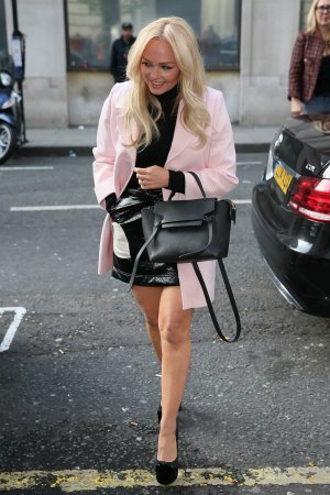 Emma Bunton seen at BBC Radio Two Studios