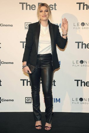Emma Marrone at The Post Red Carpet