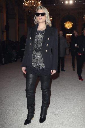 Emma Marrone attends Balmain show