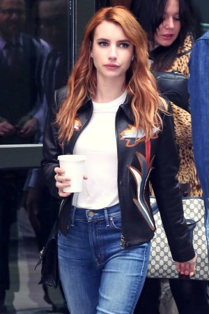 Emma Roberts out in New York City