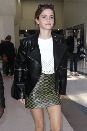 Emma Watson arrives at LAX