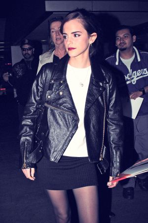 Emma Watson at LAX in Los Angeles