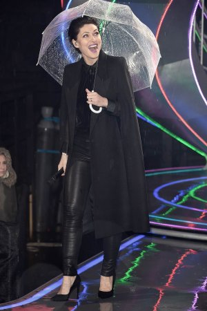 Emma Willis attends Celebrity Big Brother eviction
