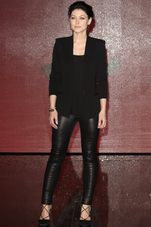 Emma Willis attends The Voice Finalists red carpet photocall