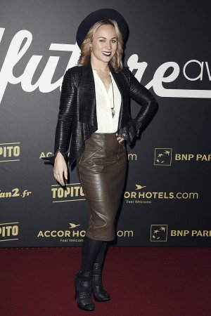 Emmanuelle Berne attends the '4th Melty Future Awards'