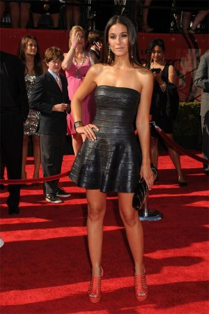 Emmanuelle Chriqui at 2011 ESPY Awards in Los Angeles