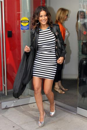 Emmanuelle Chriqui at CityTV Studios