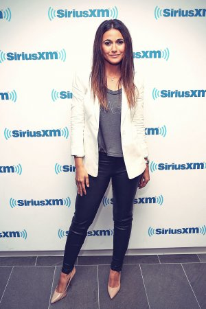 Emmanuelle Chriqui at SiriusXM Studios